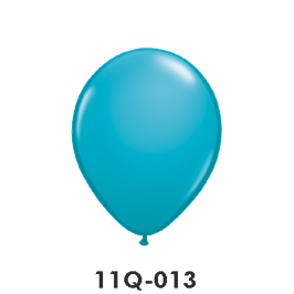 Qualatex-Rundballons tropical teal