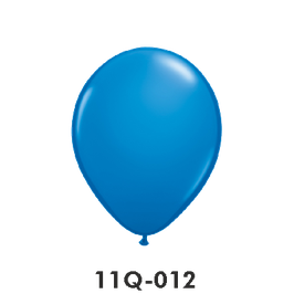 Qualatex-Rundballons blau