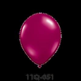 Qualatex-Rundballons Transparent sparkling burgundy