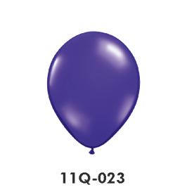 Qualatex-Rundballons Transparent quarz-lila