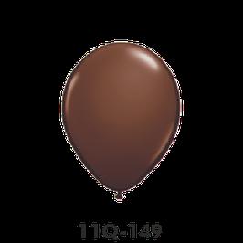 Qualatex-Rundballons schokoladenbraun