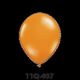 Qualatex-Rundballons Transparent mandarin orange
