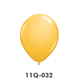 Qualatex-Rundballons goldenrod
