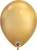 Qualatex-Rundballons Chrome gold