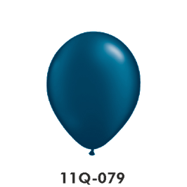 Qualatex-Rundballons Perl Mitternachtsblau