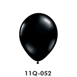 Qualatex-Rundballons  onyx schwarz