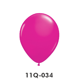 Qualatex-Rundballons wild berry