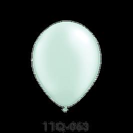 Qualatex-Rundballons Perl Seegrün