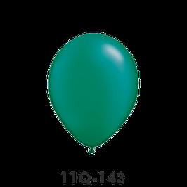 Qualatex-Rundballons Perl smaragdgrün