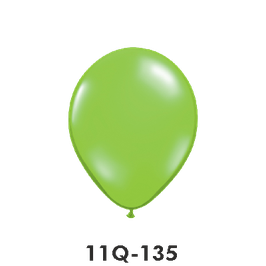 Qualatex-Rundballons Transparent lime