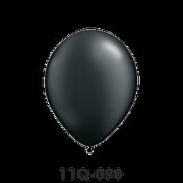 Qualatex-Rundballons Perl onyx schwarz