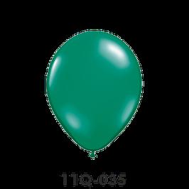 Qualatex-Rundballons Transparent smaragdgrün