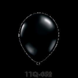 Qualatex-Rundballons  onyx schwarz