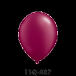 Qualatex-Rundballons Perl burgundy