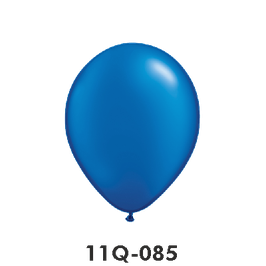 Qualatex-Rundballons Perl Saphirblau