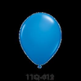 Qualatex-Rundballons blau