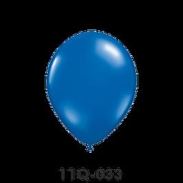 Qualatex-Rundballons Transparent saphirblau