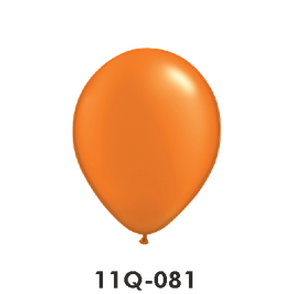 Qualatex-Rundballons Perl mandarin orange