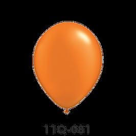 Qualatex-Rundballons Perl mandarin orange