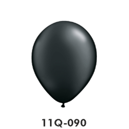Qualatex-Rundballons Perl onyx schwarz