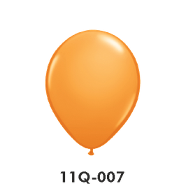 Qualatex-Rundballons orange