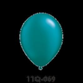 Qualatex-Rundballons Perl teal