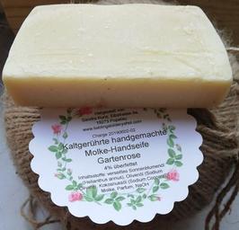 SALE Gartenrose Molke-Handseife