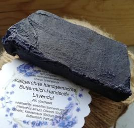 SALE Lavendel Rohstück, Buttermilch Handseife