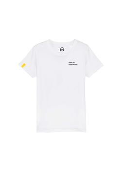 Kinder T-Shirt - weiß