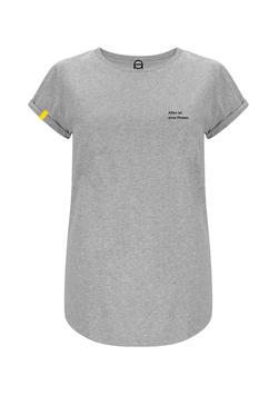 T-Shirt für deine Phasen - grau meliert