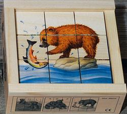 Kuutiopalapeli, 9 palaa karhu