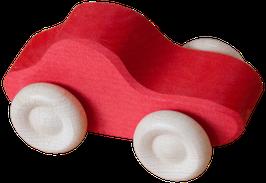 Auto, kirkkaanpunainen
