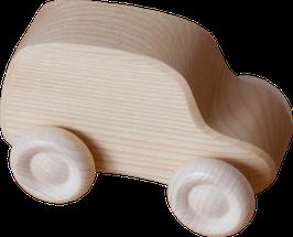 Pakettiauto, puunvärinen