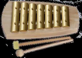 Glockenspiel pentatonisch 7 Töne