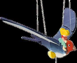 Keijukainen lentää pääskysellä mobile