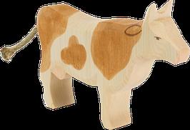 Lehmä, ruskea, seisova