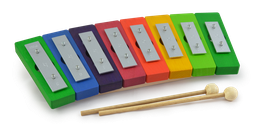 Diatonisches Glockenspiel Regenbogen