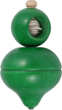 Vedettävä rengashyrrä, vihreä