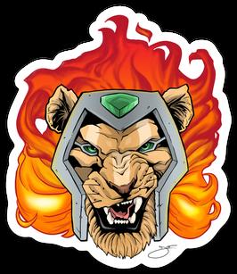 Mekal the Devourer Sticker