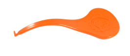 accroche bracelet orange