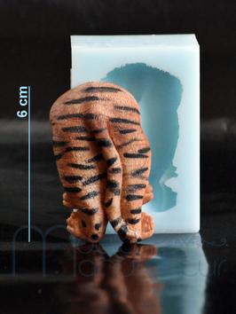 Hinterteil Tiger