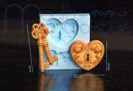 Herz m. Schlüssel