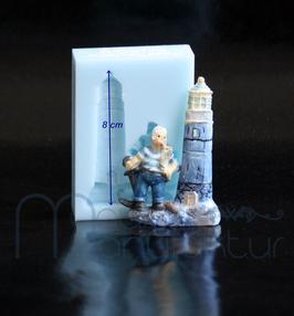 Leuchtturm m. Matrose