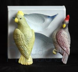 Papagei 2 Stück