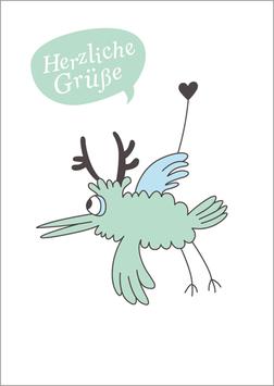 Postkarte | Hirschvogel