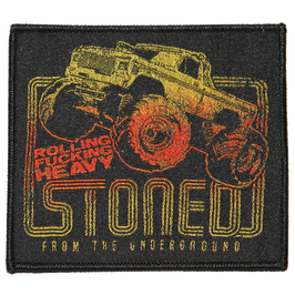 Patch 'Stoned from the Underground' Monster Truck style