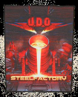 Backpatch 'U.D.O. Steelfactory'