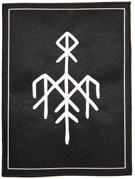 Backpatch 'Wardruna' Logo White