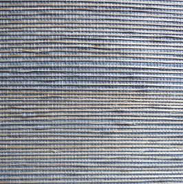 """Bambus Tapete """"Amida"""",  fein, blau"""