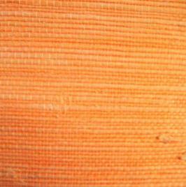 "Gras Jute Tapete ""Kagami"", orange"